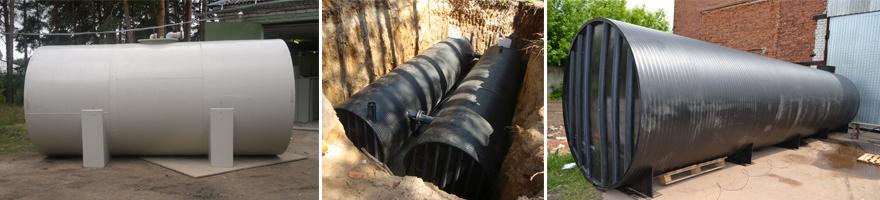 Фото пластиковые резервуары