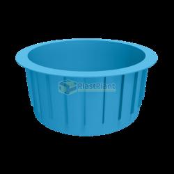 Круглый бассейн из полипропилена