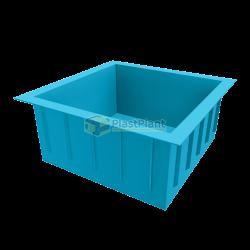 Квадратный бассейн из полипропилена