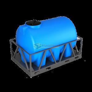 Пластиковая емкость Н 2000 литров в обрешетке купить в Москве