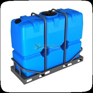 Пластиковая емкость SK 2000 литров в обрешетке купить в Москве