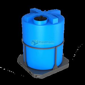 Пластиковая емкость Т 3000 литров в обрешетке купить в Москве