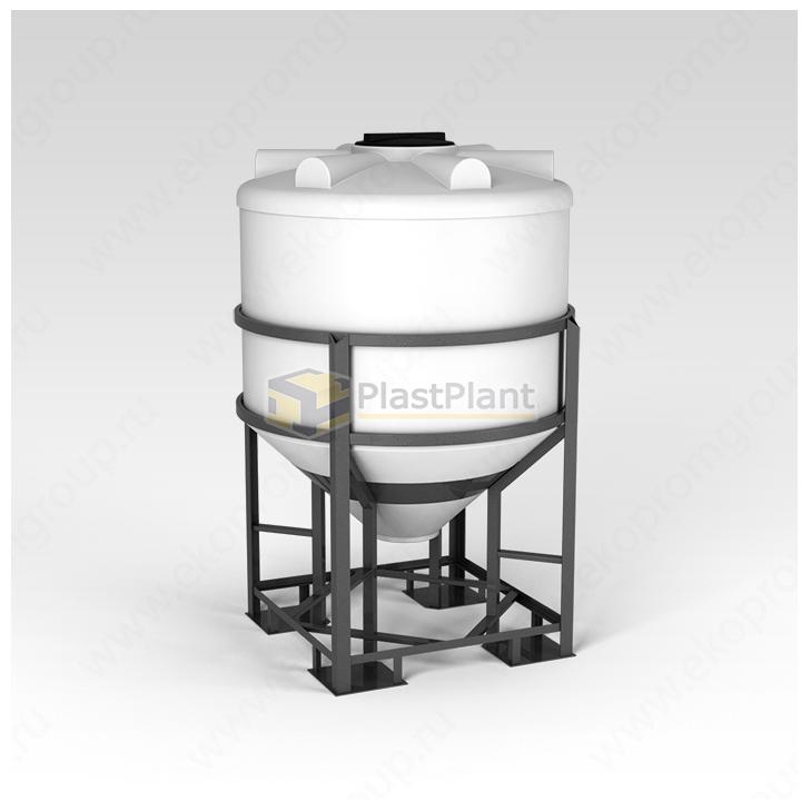 Емкость ФМ 1000 литров в обрешетке