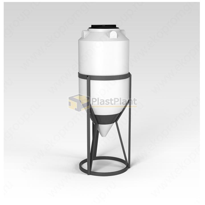 Емкость ФМ 240 литров в обрешетке