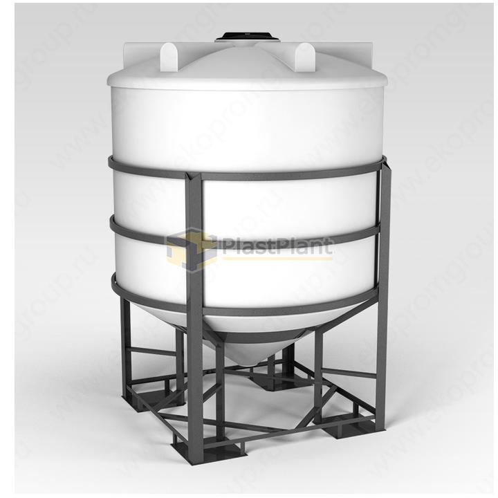 Емкость ФМ 5000 литров в обрешетке