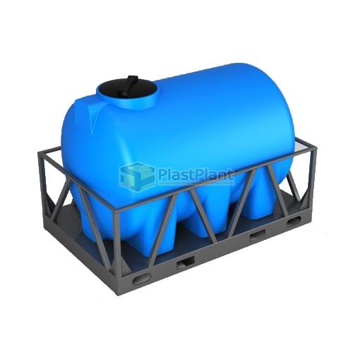 Емкость Н 2000 литров в обрешетке