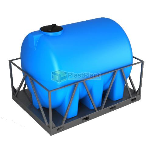 Емкость Н 5000 литров в обрешетке