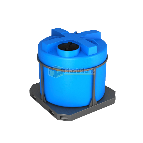 Емкость Т 2000 литров в обрешетке