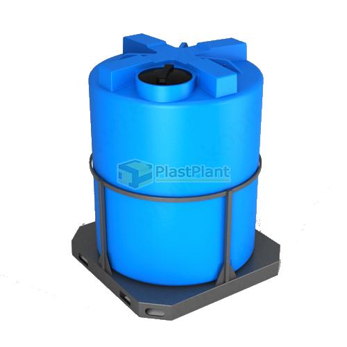 Емкость Т 3000 литров в обрешетке
